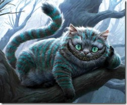 Cheshire Cat in Tim Burton&#39;s Alice in Wonderland