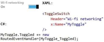 ToggleSwitchXAML