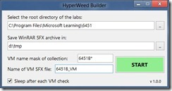 HyperWeed Builder