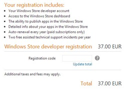WindowsStoreRegistration